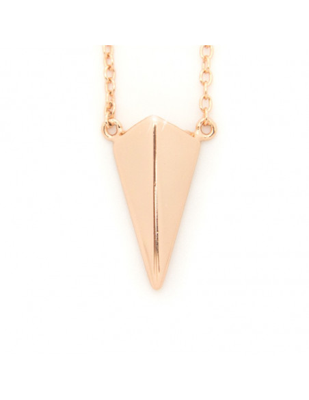 Silver Necklace rose gold HIP