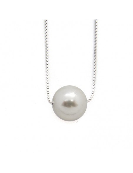 "Necklace sterling silver ""SPHERE"" H20140984"