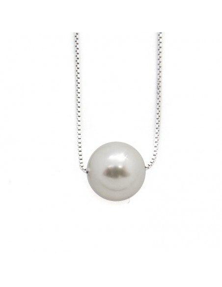 """Silber Halskette """"KUGEL"""" H20140984"""