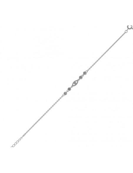 Nazar bracelet of sterling silver 925 MACY