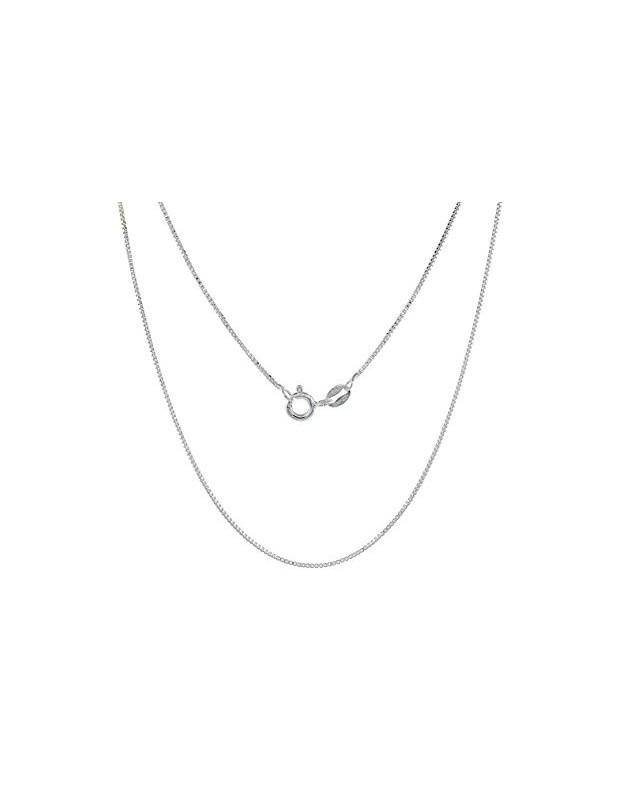 Silberkette 45 cm platin beschichtet VENI