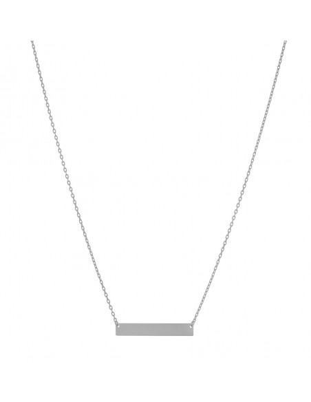 Silber Halskette minimal IOLIO