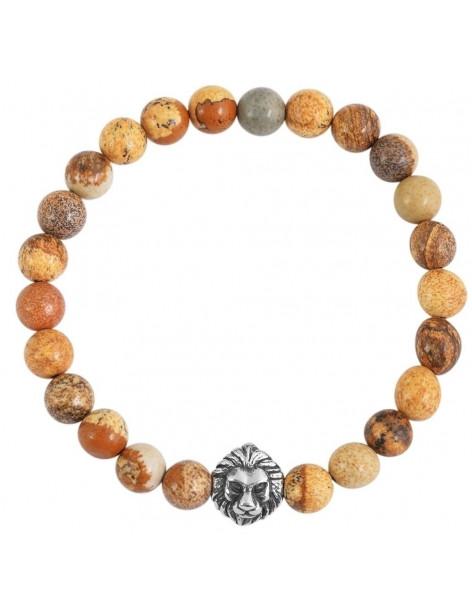 Bracelet of semiprecious stones DERASI