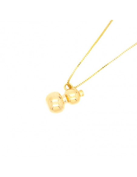 Necklace gold plated BAZO