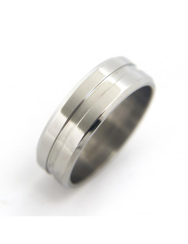 Ανδρικό Δαχτυλίδι ασημί ATLAS