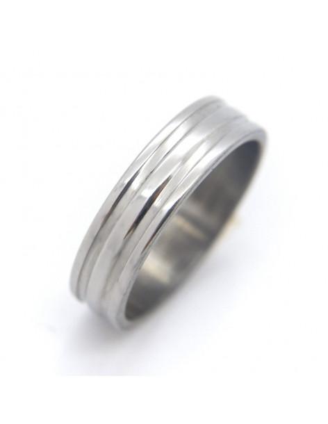 Δαχτυλίδι ανδρικό ατσάλινο KADA