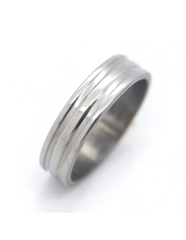 Men's ring stainless steel KADA
