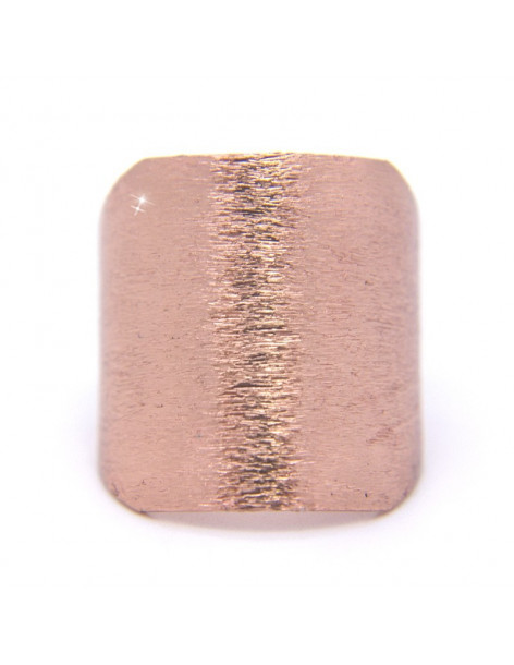 Ring from rose gold plated bronze RENA