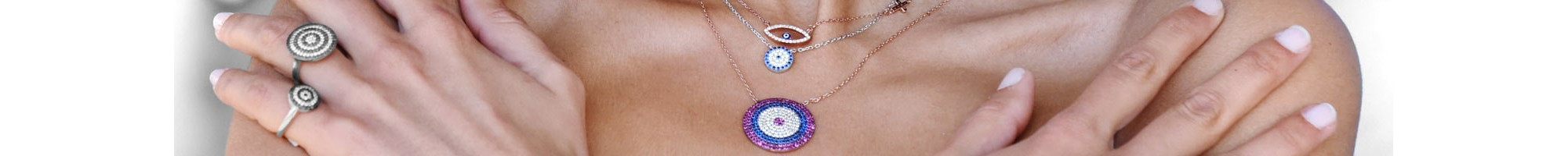 Evil Eye Necklaces from 14,90€ | Online shop | BIJOU BOX