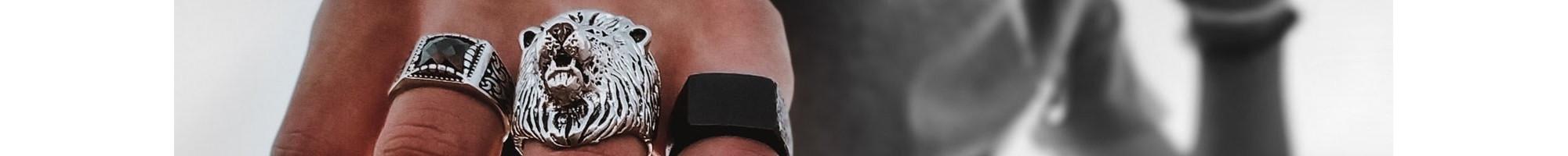 Herren Ringe | Maskulin & Einzigartig - Online bei  BIJOU BOX