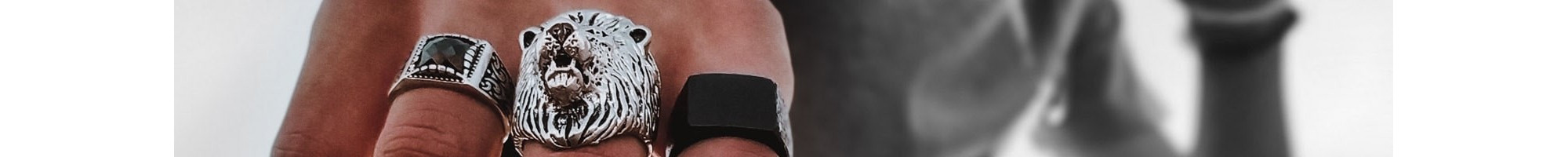 Men's rings | Discover exclusive masculine designs online at BIJOU BOX